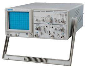 MOS-620CH模拟示波器(20M带宽)的产品图片,简介:特价产品,双通道20MHz,内刻度东芝示波管,编码开关